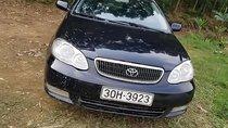 Cần bán lại xe Toyota Corolla sản xuất năm 2001, màu đen