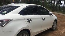 Bán xe Toyota Vios 1.5E sản xuất năm 2017, màu trắng số sàn, giá 475tr