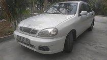 Cần bán gấp Daewoo Lanos SX đời 2002, màu trắng