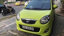 Bán ô tô Kia Morning sản xuất 2011, màu vàng xe gia đình, giá chỉ 190 triệu