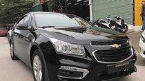 Bán Chevrolet Cruze LT 1.6L năm 2017, màu đen số sàn, giá chỉ 460 triệu