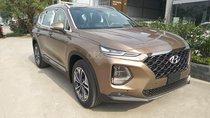 Cần bán xe Hyundai Santa Fe xăng ĐB đời 2019, màu nâu