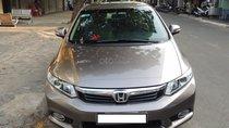 Cần bán Honda Civic model 2013 sx 2012 1.8 AT màu nâu hồng