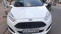 Cần bán xe Ford Fiesta 1.0AT năm sản xuất 2015, màu trắng, bao kiểm tra hãng