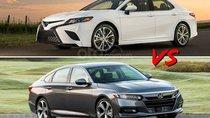 So sánh Toyota Camry 2019 và Honda Accord 2019 sắp về Việt Nam