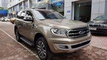 Bán Ford Everest sản xuất 2019, màu vàng cát, xe nhập