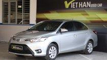 Cần bán Toyota Vios E 1.5MT năm 2017, màu bạc, giá 488tr
