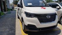 Bán Hyundai Starex cứu thương máy dầu/xăng, màu trắng, nhập khẩu nguyên chiếc