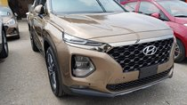 Bán xe Hyundai Santa Fe 2019 máy xăng, bản đặc biệt, màu nâu