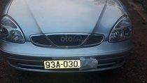 Bán ô tô Daewoo Nubira đời 2001, màu bạc, xe ít trầy xước