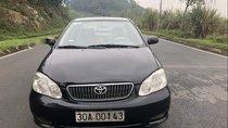 Cần bán gấp Toyota Corolla Altis J năm sản xuất 2002, màu đen, phom dáng đẹp, tiết kiệm nhiên liệu