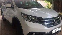 Bán Honda CR V màu trắng, số tự động, đời 2013, biển số thành phố, chính chủ