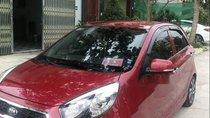 Bán xe Kia Morning bản full Si số tự động sản xuất và đăng ký tháng 8/2017, màu đỏ cực đẹp