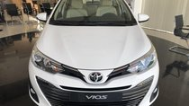 Toyota Vios 1.5G cao cấp, màu trắng giá cạnh tranh tặng bảo hiểm vật chất thân vỏ