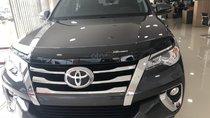 Bán xe Toyota Fortuner 2.4G AT máy dầu 2019, màu xám, xe nhập
