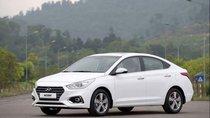 Bán Hyundai Accent 2019, màu trắng, xe giao ngay