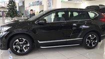 Bán Honda CR V 2018, màu đen, nhập khẩu, xe giao ngay