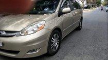 Bán xe Toyota Sienna Limited sản xuất 2008, màu vàng cát, nội thất màu kem