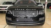 Bán xe LandRover Range Rover Autobiography LWB 2.0 P400e Hybrid 2019 màu đen nội thất nâu da bò