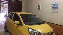 Bán xe Kia Morning Spost 1.0 AT, sản xuất năm 2011, màu vàng, nhập khẩu Hàn Quốc