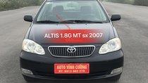 Bán Toyota Corolla altis 1.8G MT đời 2007, màu đen