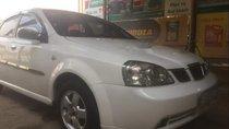 Cần bán Daewoo Lacetti SE sản xuất 2005, màu trắng, nhập khẩu, máy êm