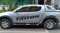 Bán ô tô Mitsubishi Triton GLS sản xuất năm 2009, màu bạc, nhập khẩu nguyên chiếc