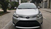 Bán ô tô Toyota Vios MT sản xuất 2015, màu bạc