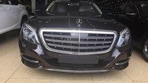 Mercedes S600 Maybach sản xuất 2015, đăng ký 2017, màu đen, lăn bánh 6000 km, xe như mới, biển Hà Nội, LH: 0906223838