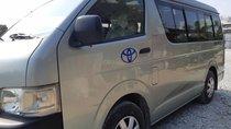 Cần bán xe Toyota Hiace tải van 6 chỗ 850kg, máy dầu, đời 2008, chạy được giờ cấm trong TP