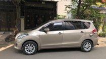 Cần bán Suzuki Ertiga AT 7 chỗ đời 2016, màu ghi vàng, giá tốt