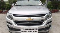 Bán Chevrolet Trailblazer sản xuất 2019, màu bạc, nhập khẩu Thái Lan giá cạnh tranh