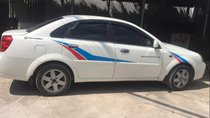 Bán Daewoo Lacetti năm sản xuất 2005, màu trắng, xe nhập xe gia đình