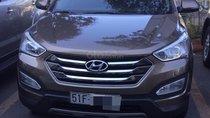 Cần bán xe Hyundai Santa Fe năm sản xuất 2015, màu nâu