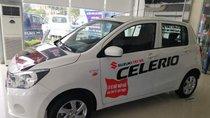 Bán xe Suzuki Celerio sản xuất 2018, màu trắng, nhập khẩu