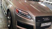 Bán xe Audi Q7 năm sản xuất 2009, màu vàng, nhập khẩu xe gia đình