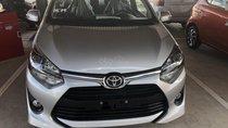 Bán Toyota Wigo 1.2MT đời 2019, màu bạc - khuyến mãi thuế trước bạ 15tr