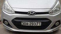 Bán Hyundai Grand i10 sản xuất năm 2014, màu bạc, nhập khẩu nguyên chiếc