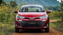 Bán xe Toyota Vios sản xuất năm 2019, màu đỏ, giá chỉ 606 triệu