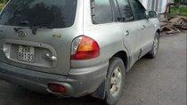 Bán Hyundai Santa Fe đời 2004, màu bạc, nhập khẩu, giá tốt