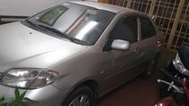 Cần bán lại xe Toyota Vios đời 2005, màu bạc xe gia đình