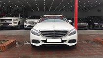 Bán Mercedes C250 Exclusive sản xuất năm 2017, màu trắng, số tự động
