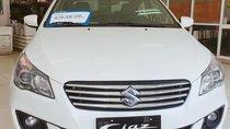 Suzuki Ciaz  - màu trắng - nhập khẩu Thailan - giá 499 triệu - liên hệ 0906.612.900