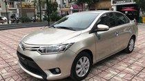 Bán Toyota Vios 1.5E MT sản xuất năm 2017, màu vàng cát