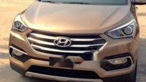 Cần bán xe Hyundai Santa Fe năm 2017, màu nâu, xe nhập