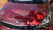 Bán xe Kia Rio AT đời 2017, màu đỏ, nhập khẩu