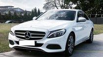Mercedes-Benz C200 màu trắng/đen đời 2018, siêu mới hộp số 9 cấp, biển Hà Nội