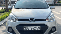 Bán Hyundai Grand i10 năm 2017 màu bạc, nhập khẩu, giá 396 triệu