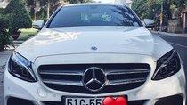 Cần bán Mercedes C200 AMG đời 2018, màu trắng, biển 9 nút Sài Gòn