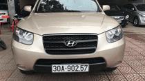 Bán xe Hyundai Santa Fe đời 2008 màu vàng, xe nhập khẩu